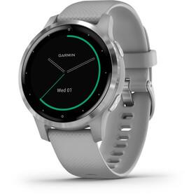 Garmin Vivoactive 4S Reloj Inteligente, grey/silver
